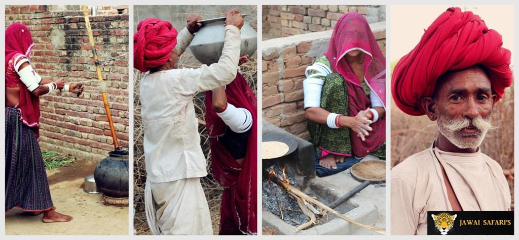 Jawai - village safari picture